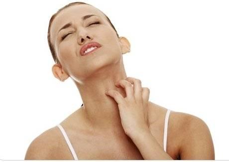 аллергия на теле чешется