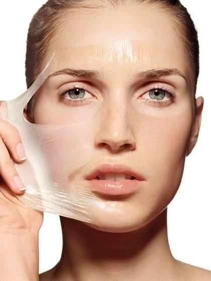 полезна маска пленка для лица