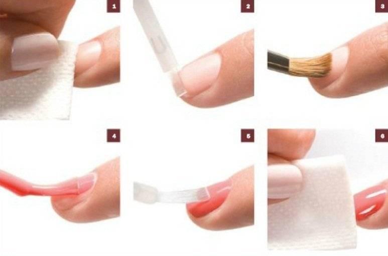 Как сделать ногти гелем в домашних условиях пошаговая инструкция