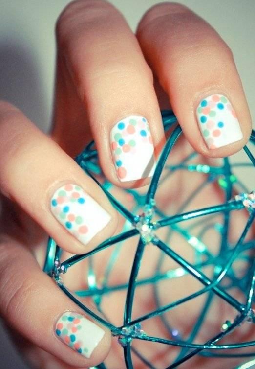 Фото простых рисунков на ногтях лаком