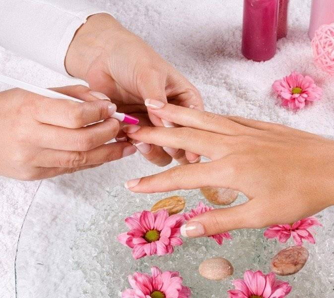 Этапы коррекции ногтей гелем