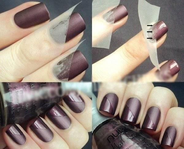 Как сделать ногти домашних условиях иголкой фото 632