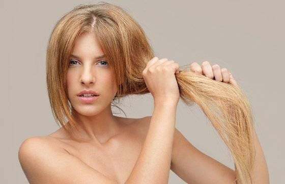 Сухие волосы и маска для сухих и секущихся кончиков волос