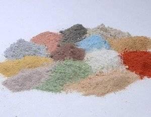 Маски из глины разных цветов, их свойства и предназначение