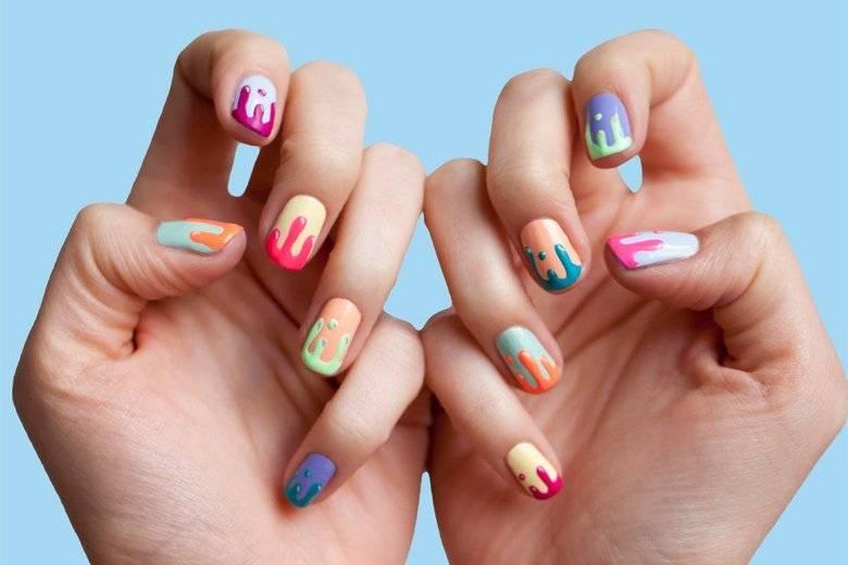 Лёгкие рисунки на ногтях в домашних условиях