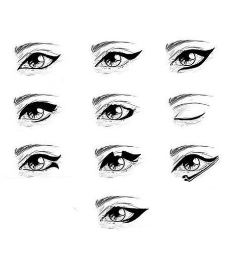 Красивые стрелки на глазах: