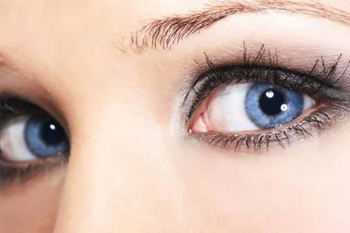 Что означают голубые глаза?
