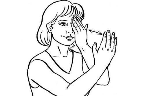 Основные упражнения для глаз по Жданову