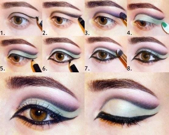 Макияж для миндалевидных глаз: 4 способа
