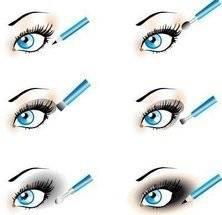 Как правильно подводить глаза карандашом, чтобы макияж выглядел эффектно