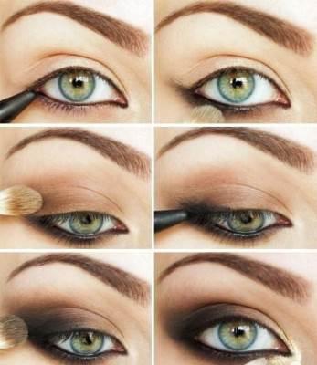 Какой выбрать вечерний макияж для зелёных глаз?