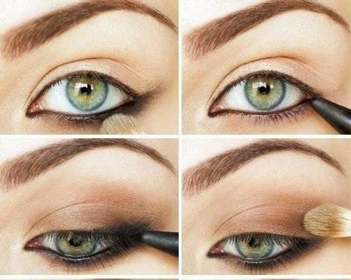 Вечерний макияж глаз: пошаговая инструкция