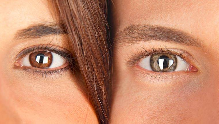 Карие глаза и совместимость их с другими