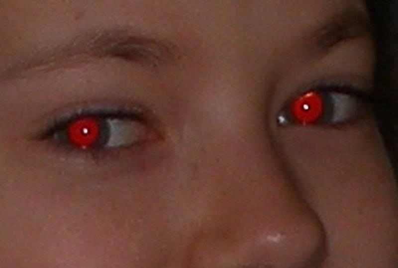Эффект красных глаз: что это? Почему появляется? Как не допустить?
