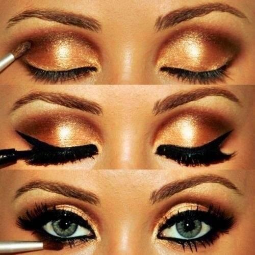 Как красить глаза подводкой, чтобы сделать их больше и выразительней