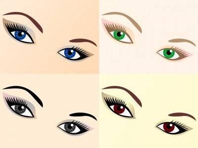 Красивый макияж для больших глаз