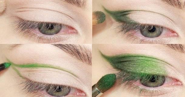 Как делать макияж глаз дома?