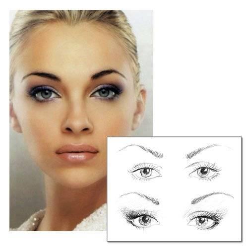 Правильный макияж глаз: основные правила
