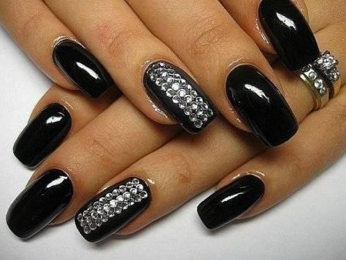 Дизайн ногтей с блестками картинки