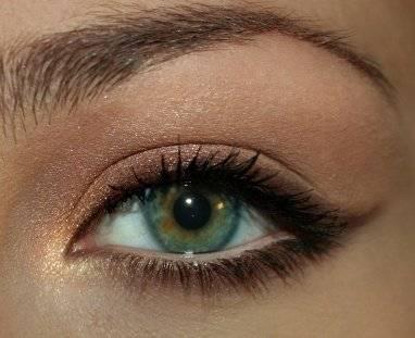 Уроки макияжа для зелёных глаз на вечер
