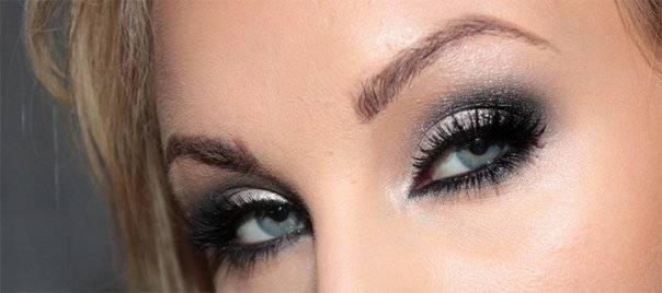 Мастер класс по макияжу глаз на вечер для голубоглазых