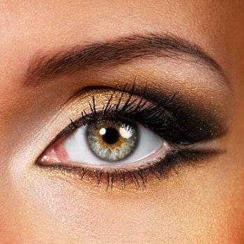 Учимся делать макияж для серо-зелёных глаз