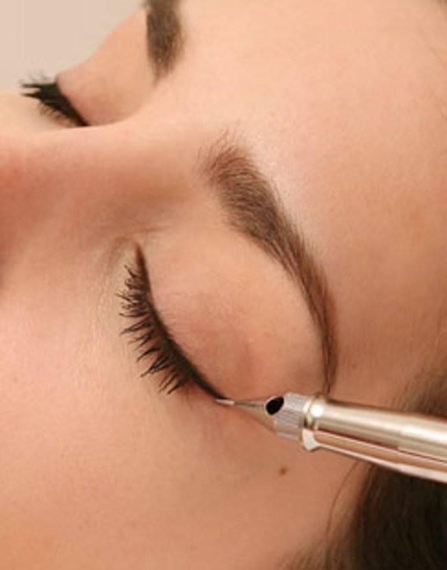 Что такое перманентный макияж глаз?