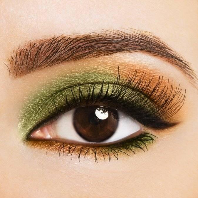 Как правильно красить карие, голубые и зеленые глаза?