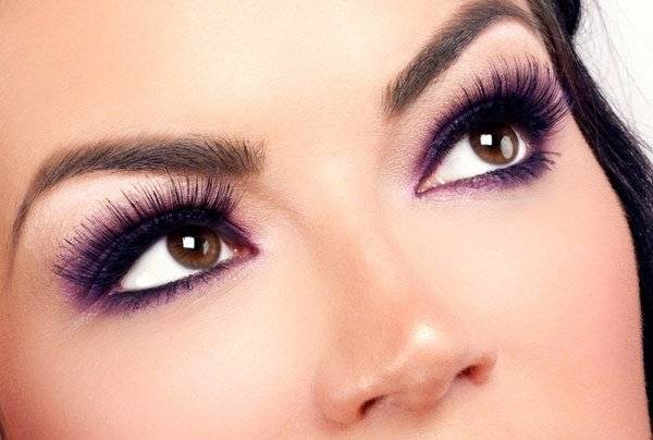 Как делается макияж закрытыми глазами