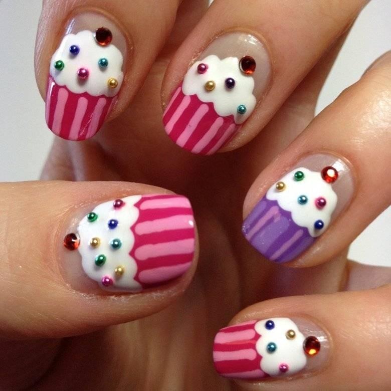 Дизайн ногтей для подростков