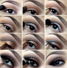 Как красиво накрасить карие глаза – идеи вечернего макияжа
