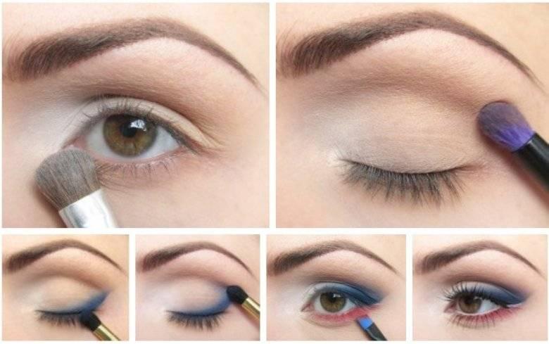 Как накрасить карие глаза – дневной макияж