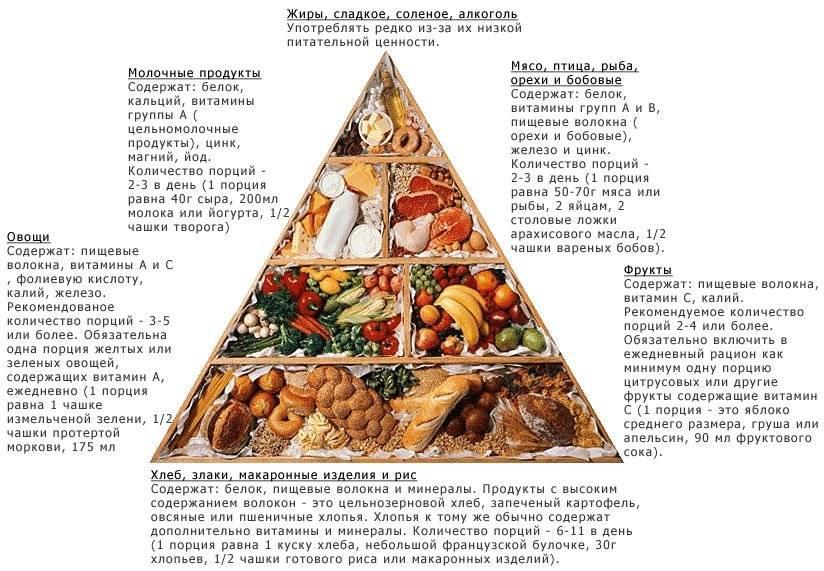 правильное питание во время тренировок меню