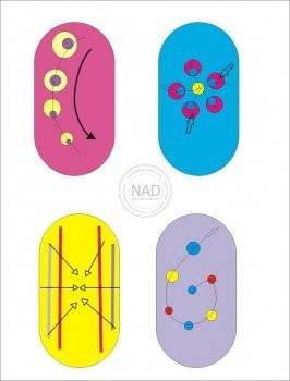Рисунки иглой на ногтях пошаговая инструкция