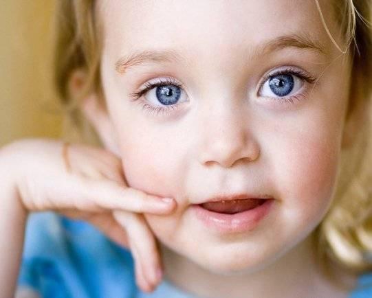 Какие могут быть глаза у ребенка, когда он подрастет