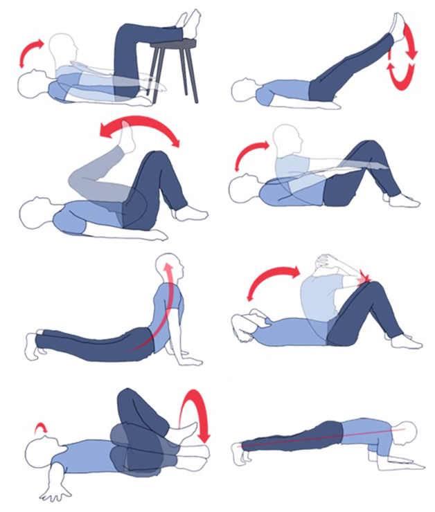Упражнения, как убрать живот после родов