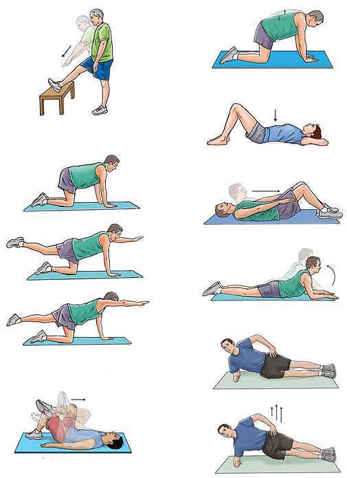 Упражнения после родов для всех участков тела