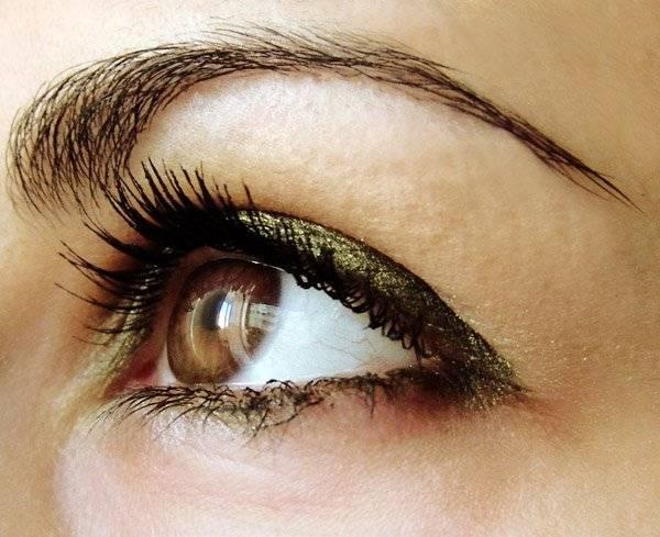Характер по глазам - темные оттенки