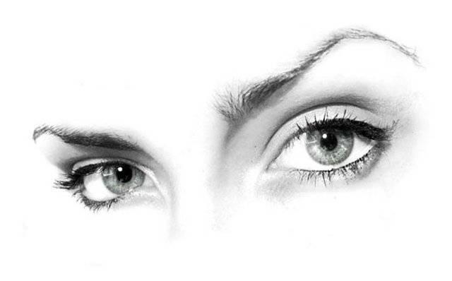Серые глаза характер