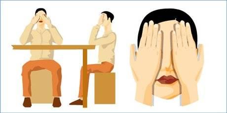 Комплекс упражнений для глаз для отдыха