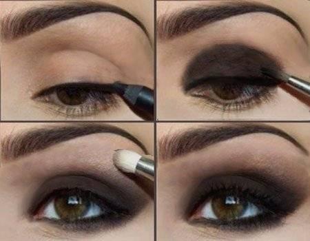 Инструменты для дымчатого макияжа