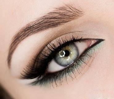 Как с зеленого цвета глаз сделать карие глаза