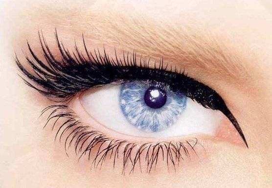 Нежные голубые глаза, значение