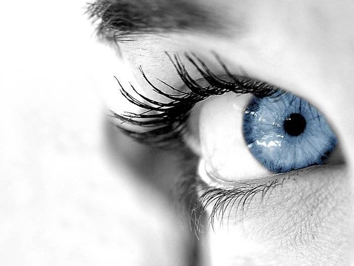 серо голубые глаза значение