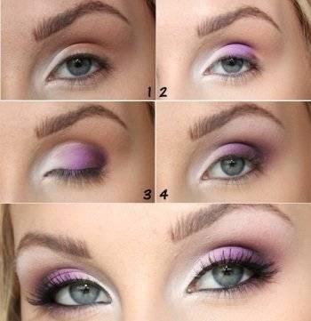 Макияж для круглых глаз, основные правила