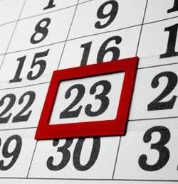 Как определить дату родов на втором и третьем месяце беременности?
